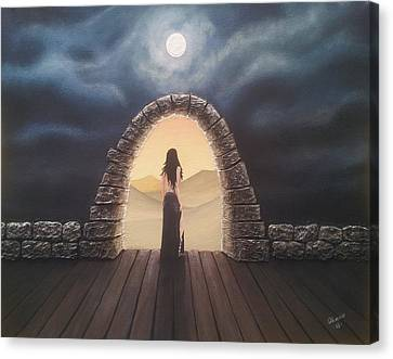 Portal Canvas Print by Edwin Alverio