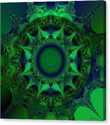 Portal Canvas Print by Elizabeth McTaggart