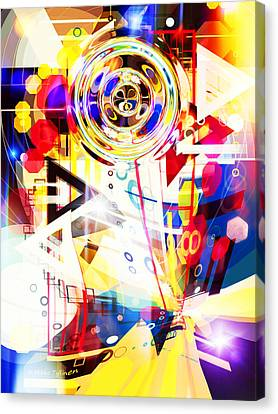 Portal Into Imaginary  Canvas Print