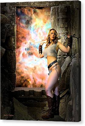 Portal Of Magic Canvas Print