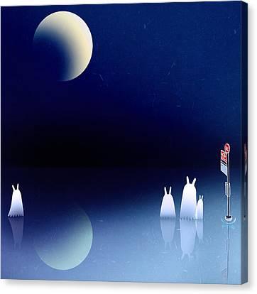 Portal Canvas Print by Yoyo Zhao