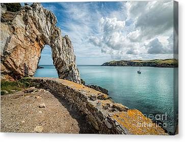 Porth Wen Arch Canvas Print