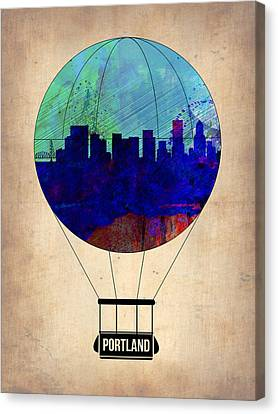 Portland Air Balloon Canvas Print