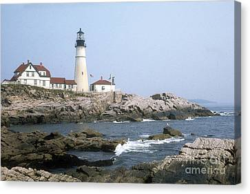 Portland Head Light Canvas Print by ELDavis Photography