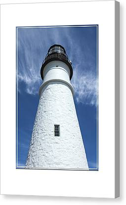 Portland Head Light Canvas Print by Mike McGlothlen