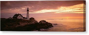 Portland Head Lighthouse, Cape Canvas Print