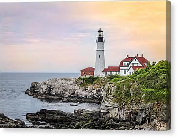 Portland Head Lighthouse  Canvas Print by Trace Kittrell