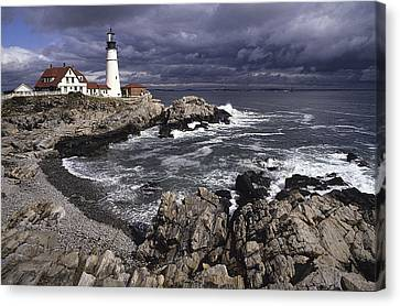 Portland Headlight Canvas Print