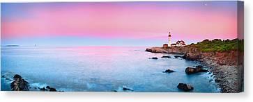 Portland Lighthouse Canvas Print by Emmanuel Panagiotakis