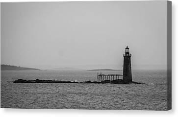 Portland Maine Lighthouse  Canvas Print by Trace Kittrell