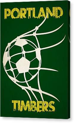 Portland Timbers Goal Canvas Print by Joe Hamilton