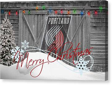 Portland Trailblazers Canvas Print