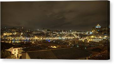 Porto Portugal From Taylor Winery Canvas Print by Ed Cilley