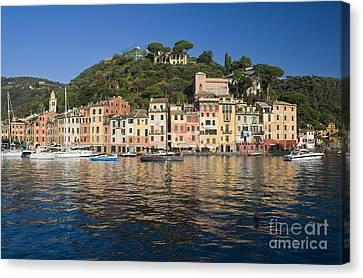 Canvas Print featuring the photograph Portofino by Antonio Scarpi