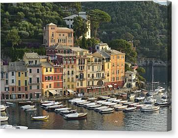 Portofino Canvas Print by Christian Heeb