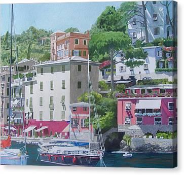Portofino Canvas Print by Constance Drescher