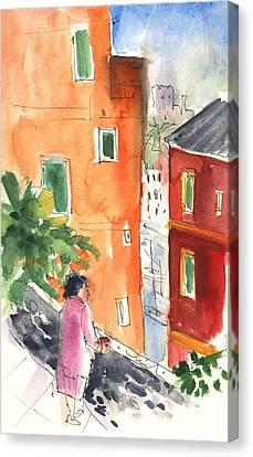 Portofino In Italy 04 Canvas Print by Miki De Goodaboom