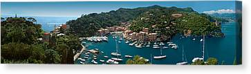 Portofino Italy Canvas Print by Al Hurley