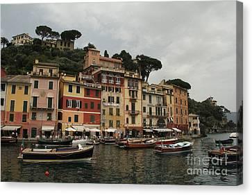 Portofino Italy  Canvas Print by Diane Greco-Lesser