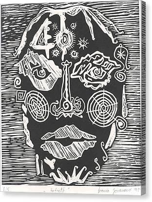 Portrait Canvas Print by Branko Jovanovic