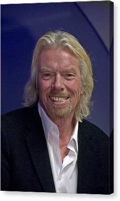 Portrait Of A Billionaire - Virgin Empire Builder Sir Richard Branson Canvas Print
