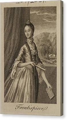 Half-length Canvas Print - Portrait Of A Character From The Novel by British Library