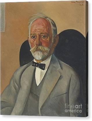 Portrait Of A Gentleman Canvas Print by Celestial Images