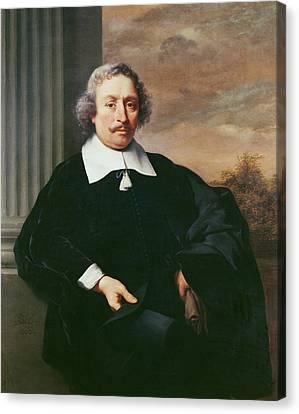 Portrait Of A Man, 1662 Oil On Canvas Canvas Print by Ferdinand Bol