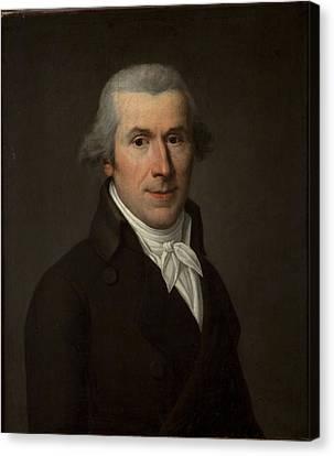 Portrait Of A Man, C.1799-1800 Oil On Canvas Canvas Print by Jean Louis Laneuville
