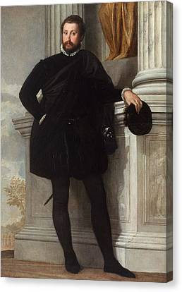 Getty Canvas Print - Portrait Of A Man by Paolo Veronese