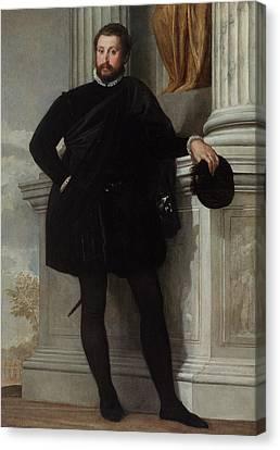 Portrait Of A Man Paolo Veronese Paolo Caliari Canvas Print