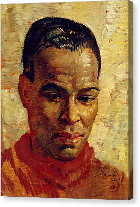 Portrait Of A Man, Possibly Henry Canvas Print by Glyn Warren Philpot