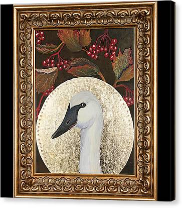 Portrait Of A Trumpeter Canvas Print by Amy Reisland-Speer