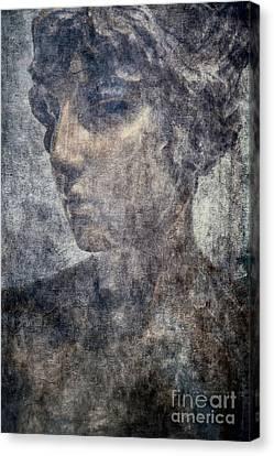 Portrait Of A Woman Canvas Print by Kathleen K Parker