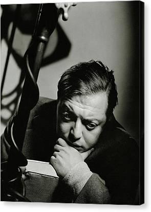Portrait Of Actor Peter Lorre Canvas Print