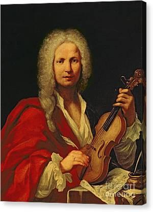 Composing Canvas Print - Portrait Of Antonio Vivaldi by Italian School