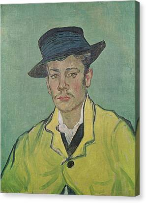 Hat Canvas Print - Portrait Of Armand Roulin by Vincent Van Gogh