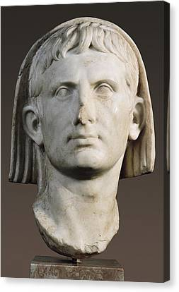 Portrait Of Augustus As Pontifex Canvas Print by Everett
