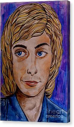 Portrait Of Barry 2 Canvas Print