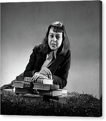 Portrait Of Carson Mccullers Canvas Print