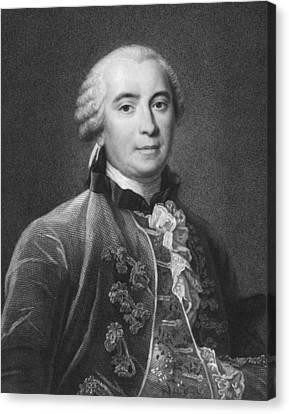 Portrait Of Count De Buffon Canvas Print