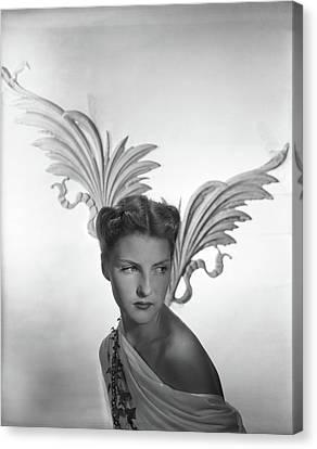 Portrait Of Cynthia Boissevain Canvas Print