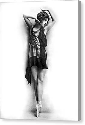 Portrait Of Dancer Agnes Boone Canvas Print