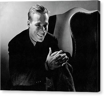 Portrait Of Douglas Montgomery Canvas Print by Edward Steichen