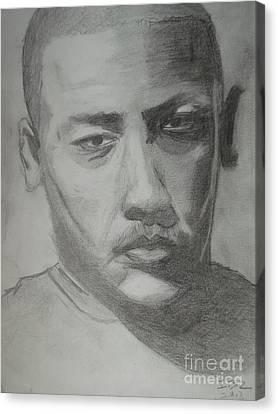 Moroccan Canvas Print - Portrait Of Dr Dre by Ibz