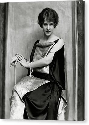Portrait Of Elsie Ferguson Canvas Print