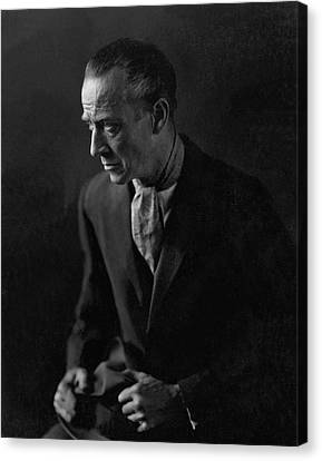 Portrait Of H. B. Warner Canvas Print