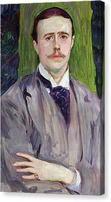 Portrait Of Jacques-emile Blanche Canvas Print by John Singer Sargent