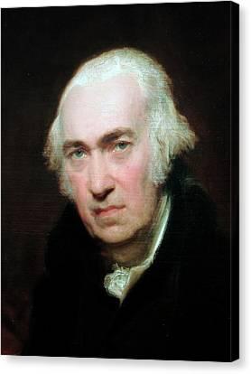Portrait Of James Watt Canvas Print by Universal History Archive/uig