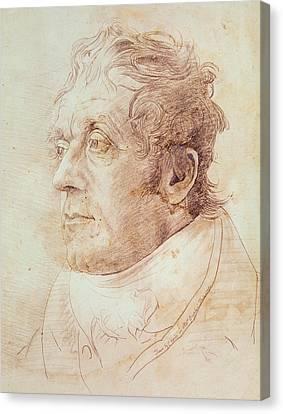 Portrait Of Jmw Turner Canvas Print